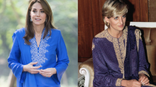 Kate Middleton's wardrobe pays homage to Princess Diana in Pakistan
