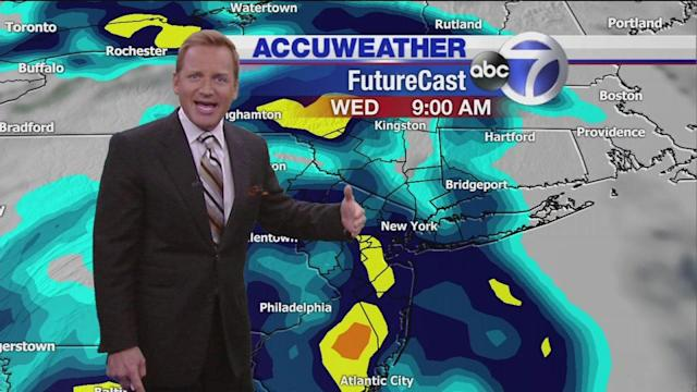 Flooding rains in the forecast