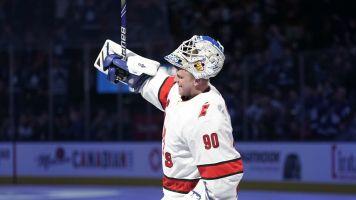Emergency! Zamboni driver turned NHL goalie