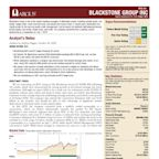 Analyst Report: Blackstone Group Inc (The)