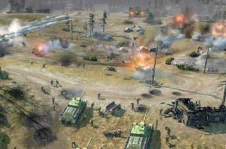 Company of Heroes 2 attacks with battlefield trailer