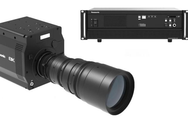 Panasonic unveils the first 8K camera with an 'organic' sensor
