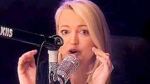Jackie O horrified by 'STI' bombshell live on-air