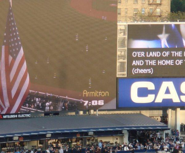 Yankee Stadium's HD scoreboard already having problems?