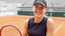 Eugenie Bouchard continues stunning resurgence at French Open