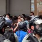 Dozens Detained in Hong Kong as Police and Protesters Clash