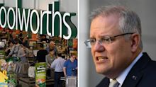 'Stop doing it': Scott Morrison's furious message for hoarding shoppers