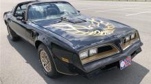 Burt Reynolds film car replicas set to go under the hammer