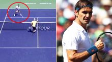 Roger Federer stuns tennis world with 'ridiculous' moment