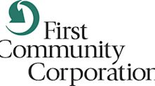 First Community Corporation Announces Third Quarter Results and Cash Dividend Third Quarter Highlights