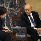 French FM in Lebanon with a message of 'great firmness'