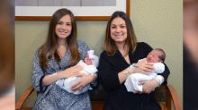 Long Island sisters' babies born on same day, delivered by same doctor