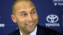Report: Derek Jeter and Jeb Bush's group wins auction for Miami Marlins