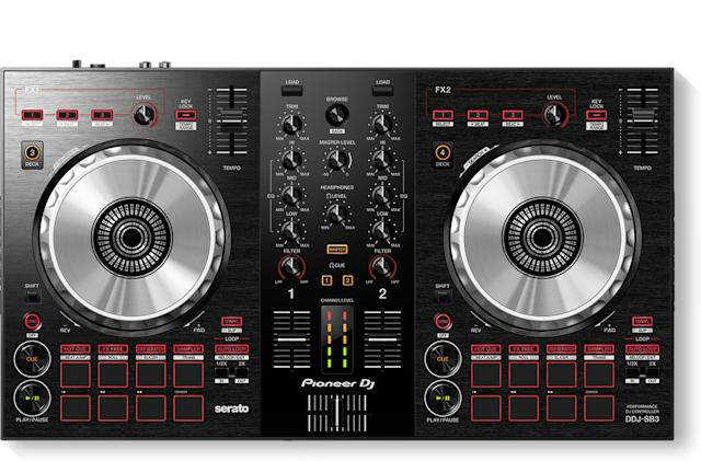 Pioneer's latest DJ controller adds push-button 'scratching'