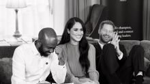 Meghan Markle continues royal duties in $1,265 asymmetrical dress