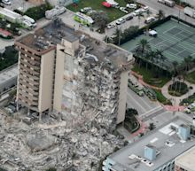 Collapsed Miami condo had been sinking into Earth as early as the 1990s, researchers say
