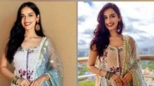 Manushi Chillar's Regal Sharara Suits Are What You Can Invest In For Your Pre-Wedding Festivities