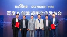 Skyworth and Baidu Established Strategic Partnership
