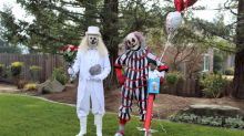Send in the clowns: These Valentine's Day grams are being delivered by haunted house performers