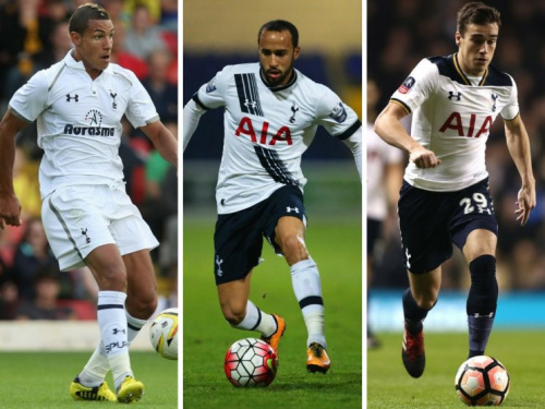 Jake Livermore, Andros Townsend and Harry Winks have all come through the Spurs system
