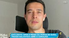 """Tiago Salvático fala de saudade de Gugu Liberato: """"Penso nele todo dia"""""""