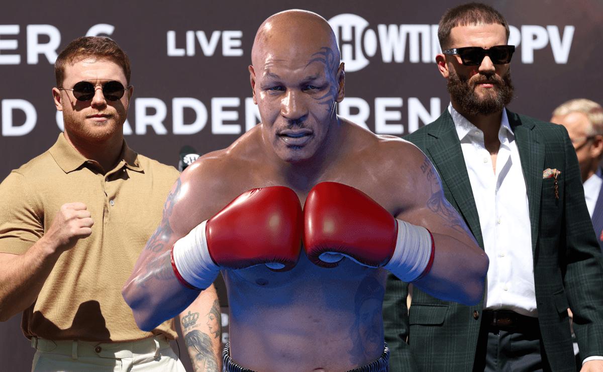 Mike Tyson presagió quién ganará la batalla entre Canelo Álvarez y Caleb Plant