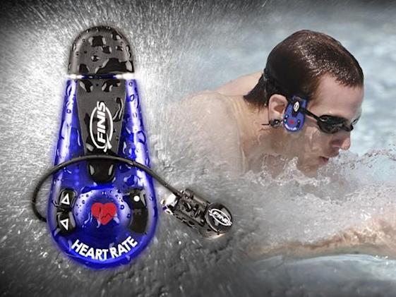 FINIS AquaPulse monitors, communicates heart rate to swimmers