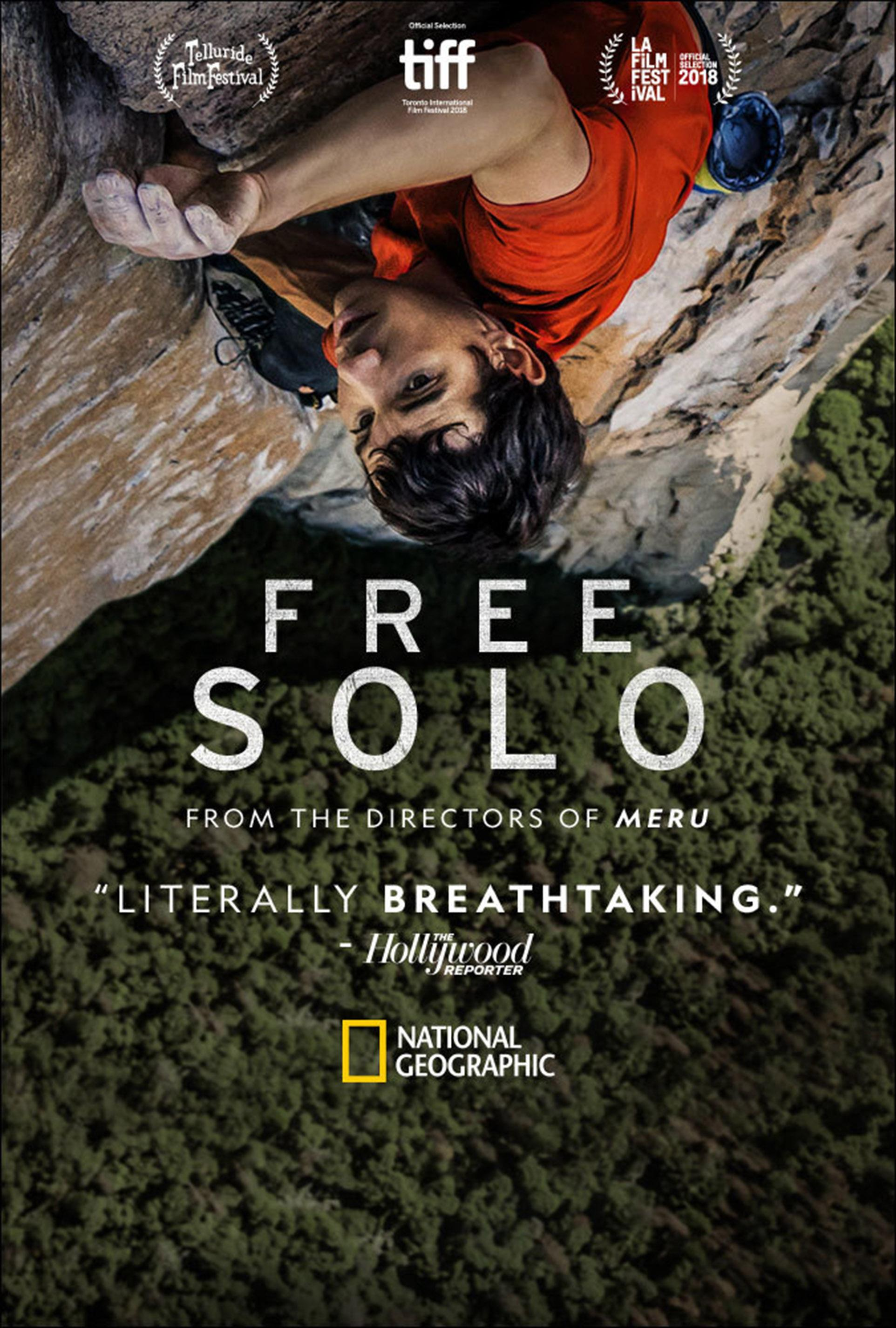 Oscars 2019 documentary picks: 'Free Solo,' 'RBG,' 'Minding