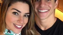 Vivian Amorim e Manoel Rafaski oficializam namoro
