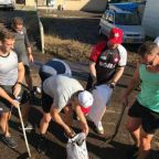 Rugby World Cup 2019: Canada help out with Typhoon Hagibis recovery efforts after game against Namibia is called off