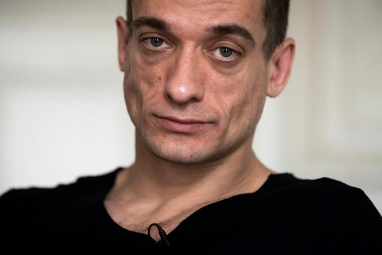 Pyotr Pavlensky, who received asylum in France in 2017 after several radical protests in Russia, was arrested on Saturday