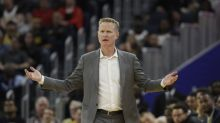 Steve Kerr sarcastically responds to President Donald Trump's tweet about kneeling Giants players