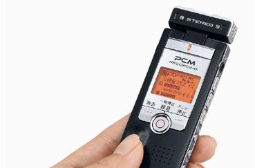 Sanyo's 8GB voice recorder: ready for the 1,000 hour filibuster