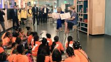 Betsy DeVos, Ivanka Trump team up for girls reading event at Smithsonian museum