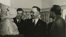 Cuando Heinrich Himmler quedó prendado (de una réplica) de la 'Dama de Elche' en su visita a Madrid
