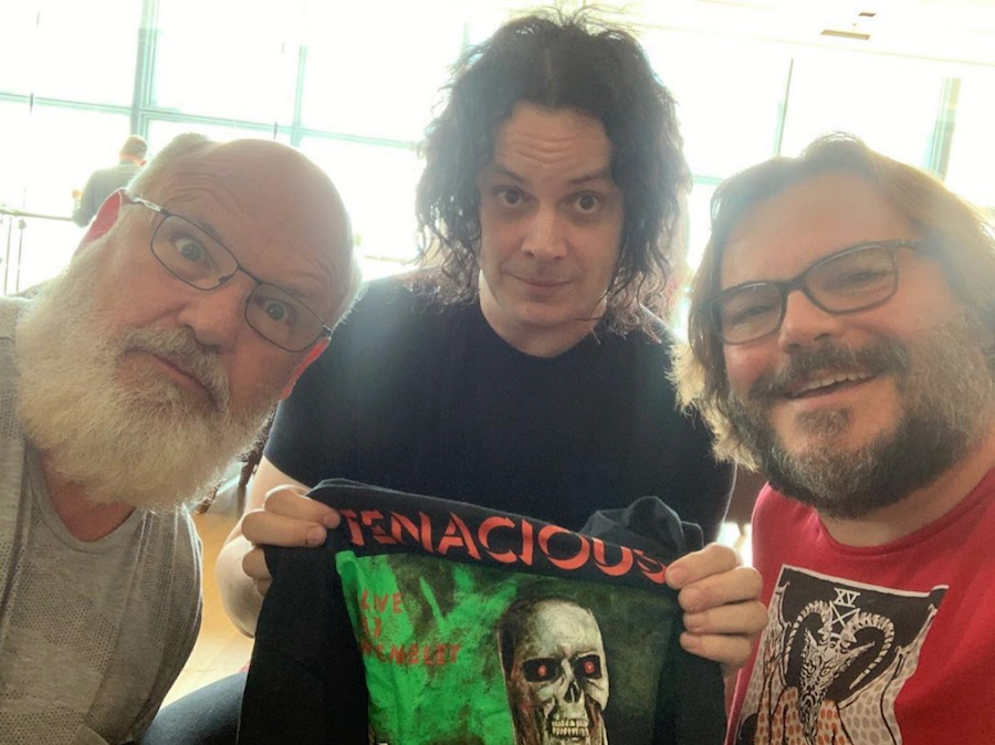 Jack Black and Jack White have finally recorded a song together