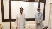Kamal Nath pays courtesy visit to Madhya Pradesh CM Shivraj Singh Chouhan