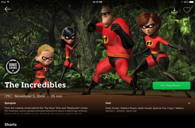 Disney Movies Anywhere service launches with an unprecedented link to iTunes