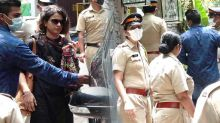 Kangana Ranaut sister Rangoli Chandel visits her sister's demolish office