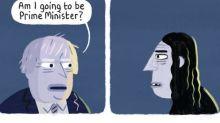 Stephen Collins on Boris Johnson – cartoon