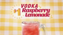 Sip Into Summer With Applebee's $1 Vodka Raspberry Lemonade