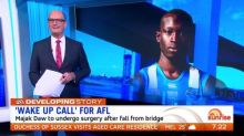 Wayne Schwass says Majak Daw incident is a 'wake up call' for AFL