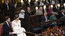 Why there was an empty seat in the chapel at Princess Eugenie's wedding