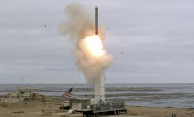 才退出INF 美試射中程巡弋飛彈