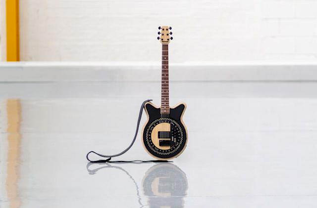 This self-strumming guitar can shred like no other