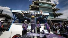 Pole for Grosjean, Honda at GMR Grand Prix of Indianapolis