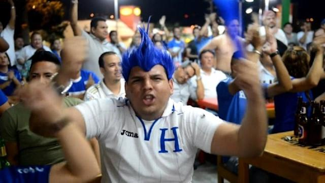 Honduras classificada para Copa de 2014