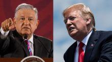 De equipararlo con Hitler a callar ante el muro: Así cambió el discurso de AMLO hacia Trump