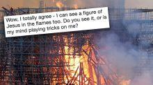 Social media debates 'Jesus' in Notre Dame Cathedral fire