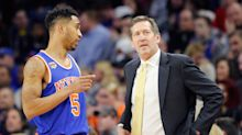 Jeff Hornacek cursed out Courtney Lee, and the Knicks had their best quarter ever